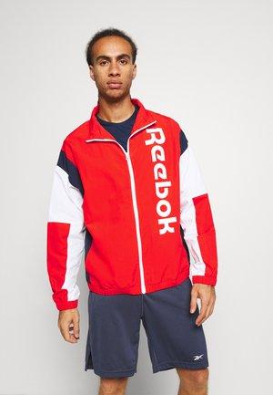 JACKET - Sportovní bunda - red