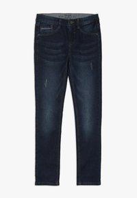 s.Oliver - Slim fit jeans - dark blue denim - 0