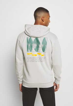 TERREX FOUNDATION OUTDOOR HOODED - Sweatshirts - grey