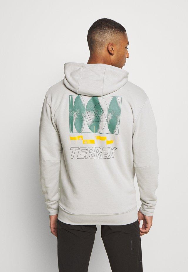 TERREX FOUNDATION OUTDOOR HOODED - Sweatshirt - grey