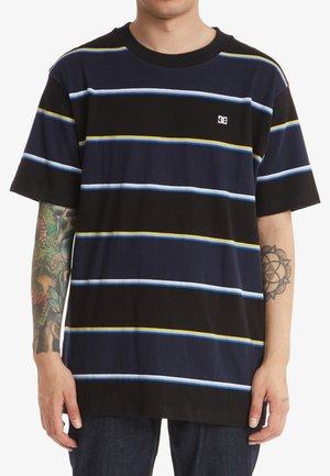 RUMBLE - T-shirt med print - black rumble stripe