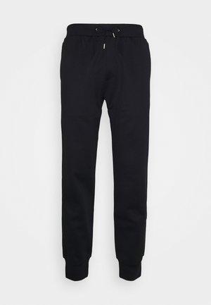 GENTS STRIPE PANEL JOGGER - Spodnie treningowe - black