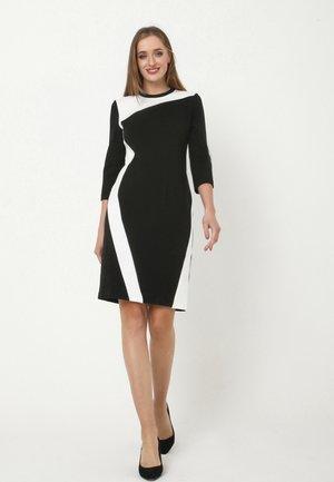 SPARNADA - Jersey dress - schwarz, weiß