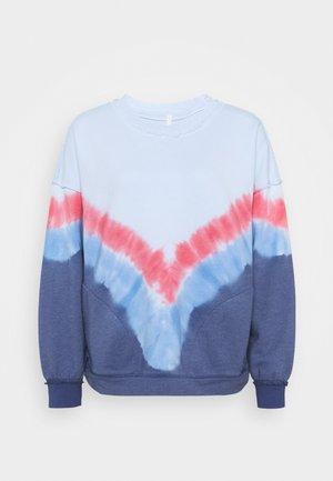 OMBRE METTI CREW - Sweater - aurora blue