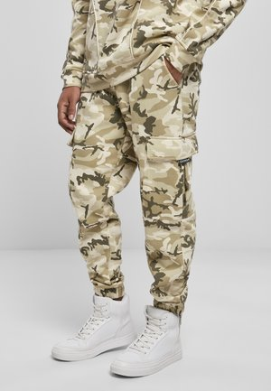 Tracksuit bottoms - sand camouflage