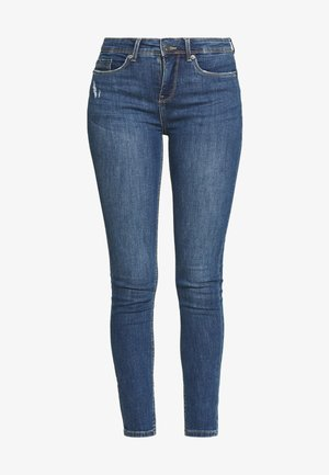 SLOELLE - Slim fit jeans - medium light denim blue