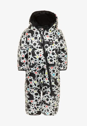 BUDDY BUBBLES - Snowsuit - black/white
