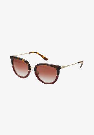Sunglasses - dark tortoise/bordeaux