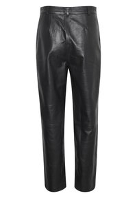 Soaked in Luxury - SLPATRICIA - Leather trousers - black - 5