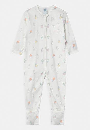 UNISEX - Pyjamas - white pebble