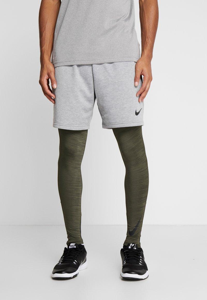 Nike Performance - Tights - cargo khaki/black