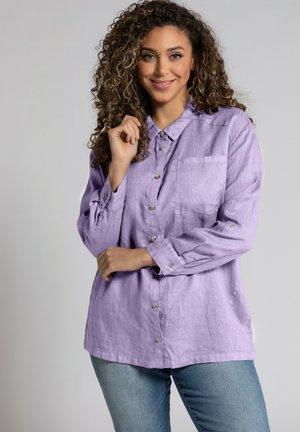Button-down blouse - zartes lavendel