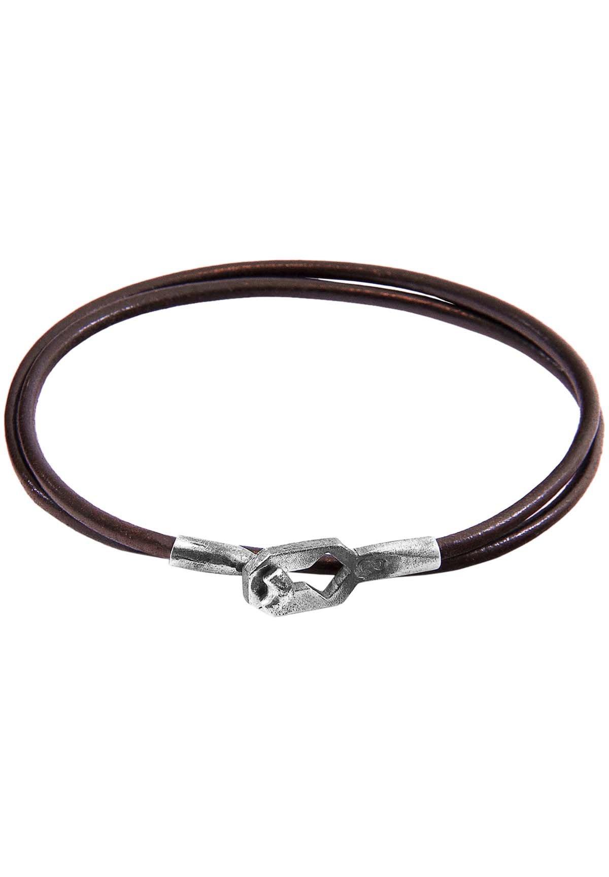 Anchor & Crew Armband - Brown/braun