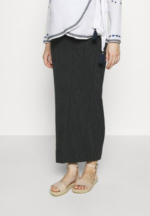 SKIRT - Maxinederdele - anthracite