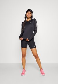 adidas Performance - TEE - Treningsskjorter - black - 1
