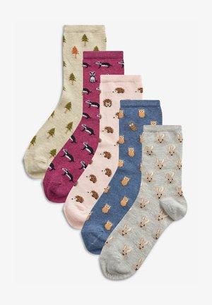 5 PACK - Socks - blue