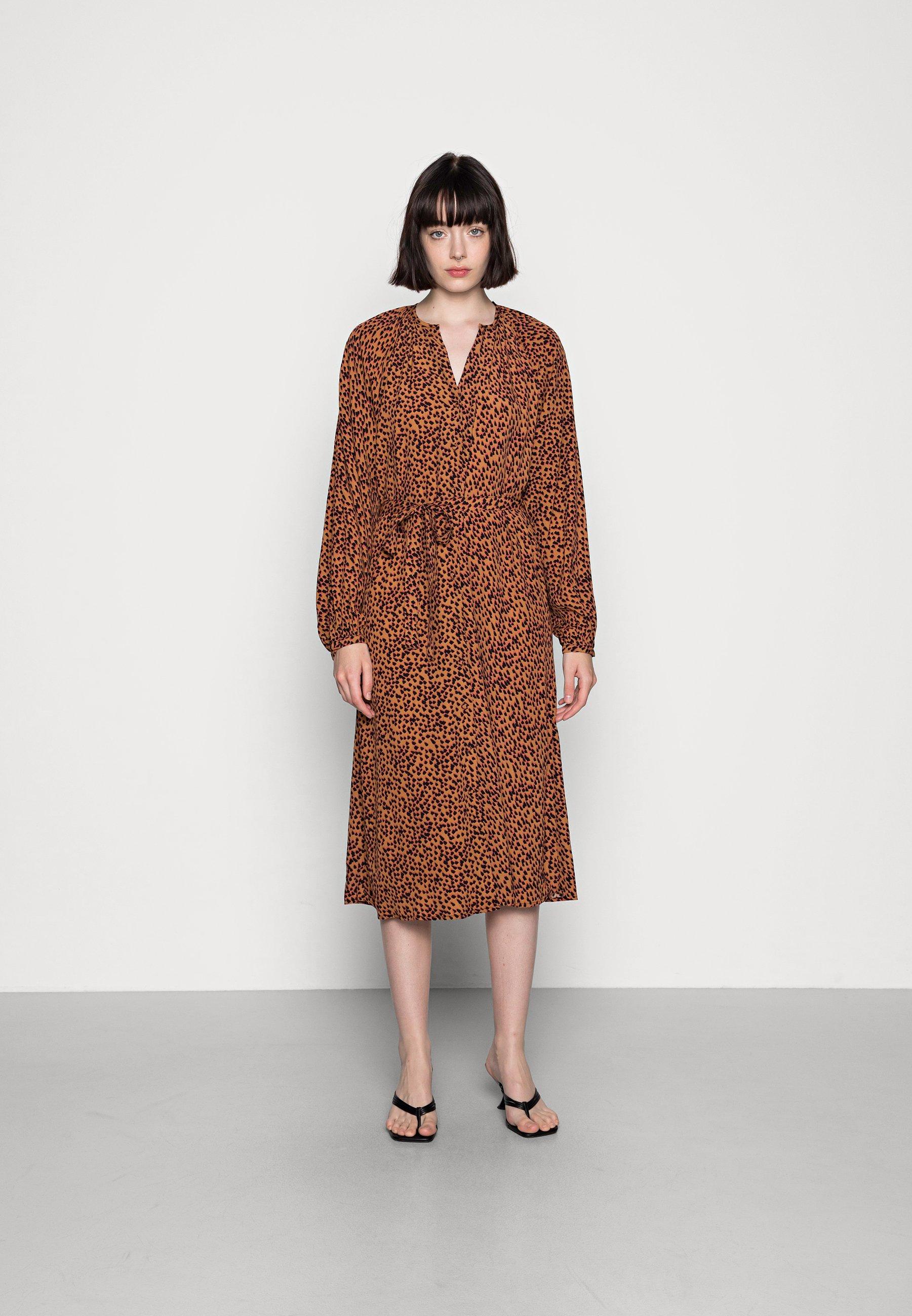 Mujer VMTANIA CALF DRESS  - Vestido camisero