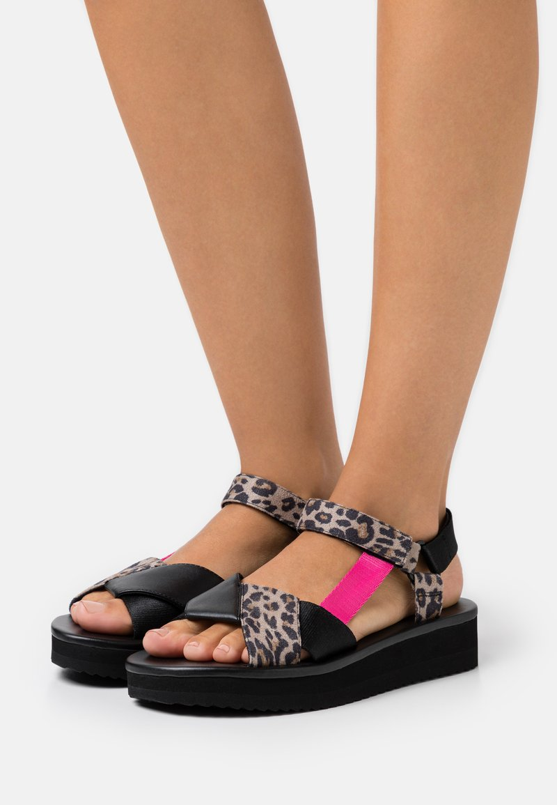 kate spade new york - DOTTY - Sandals - taupe/multicolor