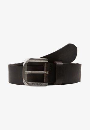 Belt - black brown