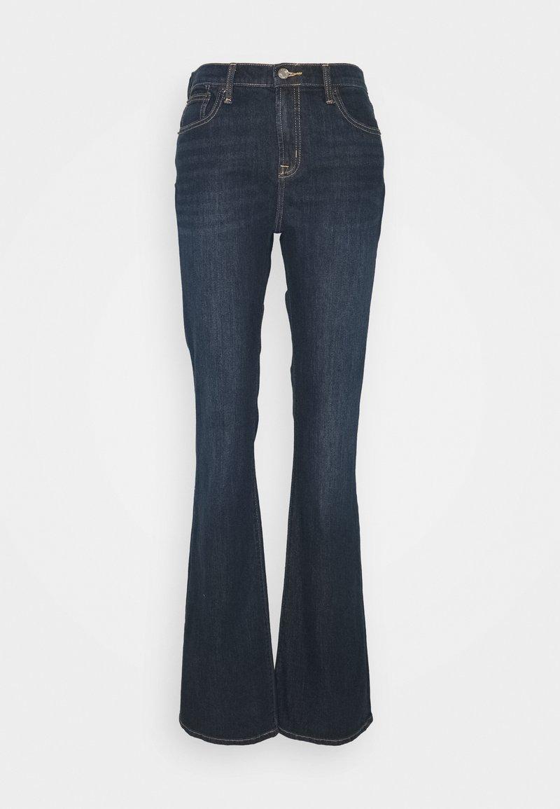 Gap Tall - PEARL - Bootcut jeans - dark rinse
