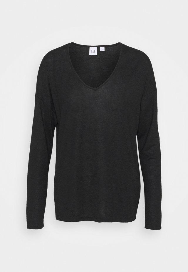 Strickpullover - true black