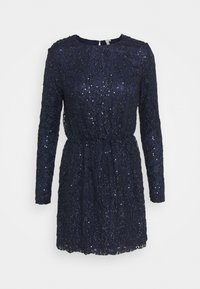 Nly by Nelly - SEQUIN DRESS - Cocktail dress / Party dress - blue - 0