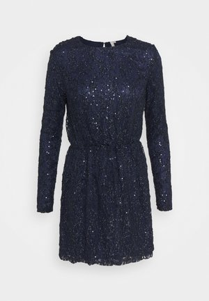 SEQUIN DRESS - Vestito elegante - blue