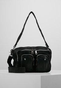 Núnoo - ELLIE WASHED - Handbag - black - 0