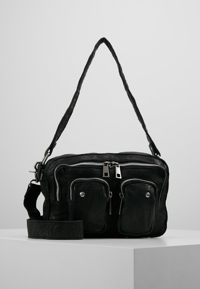 ELLIE WASHED - Bolso de mano - black