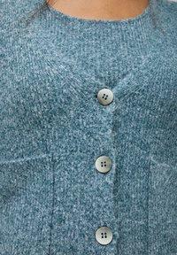 PULL&BEAR - Cardigan - mottled blue - 3