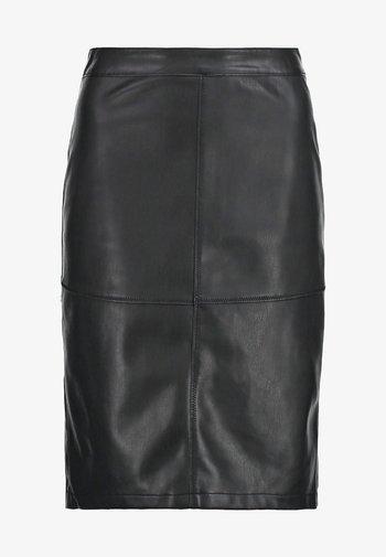 VIPEN - Pencil skirt - black