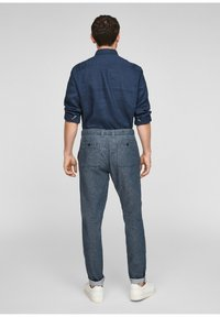 s.Oliver - Trousers - blue - 2