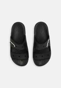 Crocs - CLASSIC UNISEX - Sandalias planas - black - 3