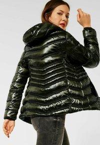 Street One - STEPP OPTIK - Light jacket - grün - 2