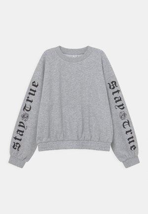 STEFFIE - Felpa - light grey melange