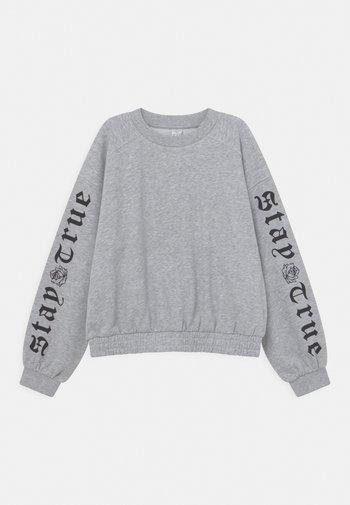 STEFFIE - Sweatshirt - light grey melange