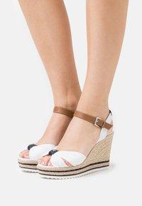 TOM TAILOR - Platform sandals - white - 0