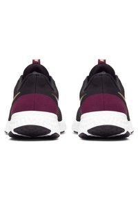 Nike Performance - REVOLUTION 5 - Neutral running shoes - black/night maroon/metallic copper - 3