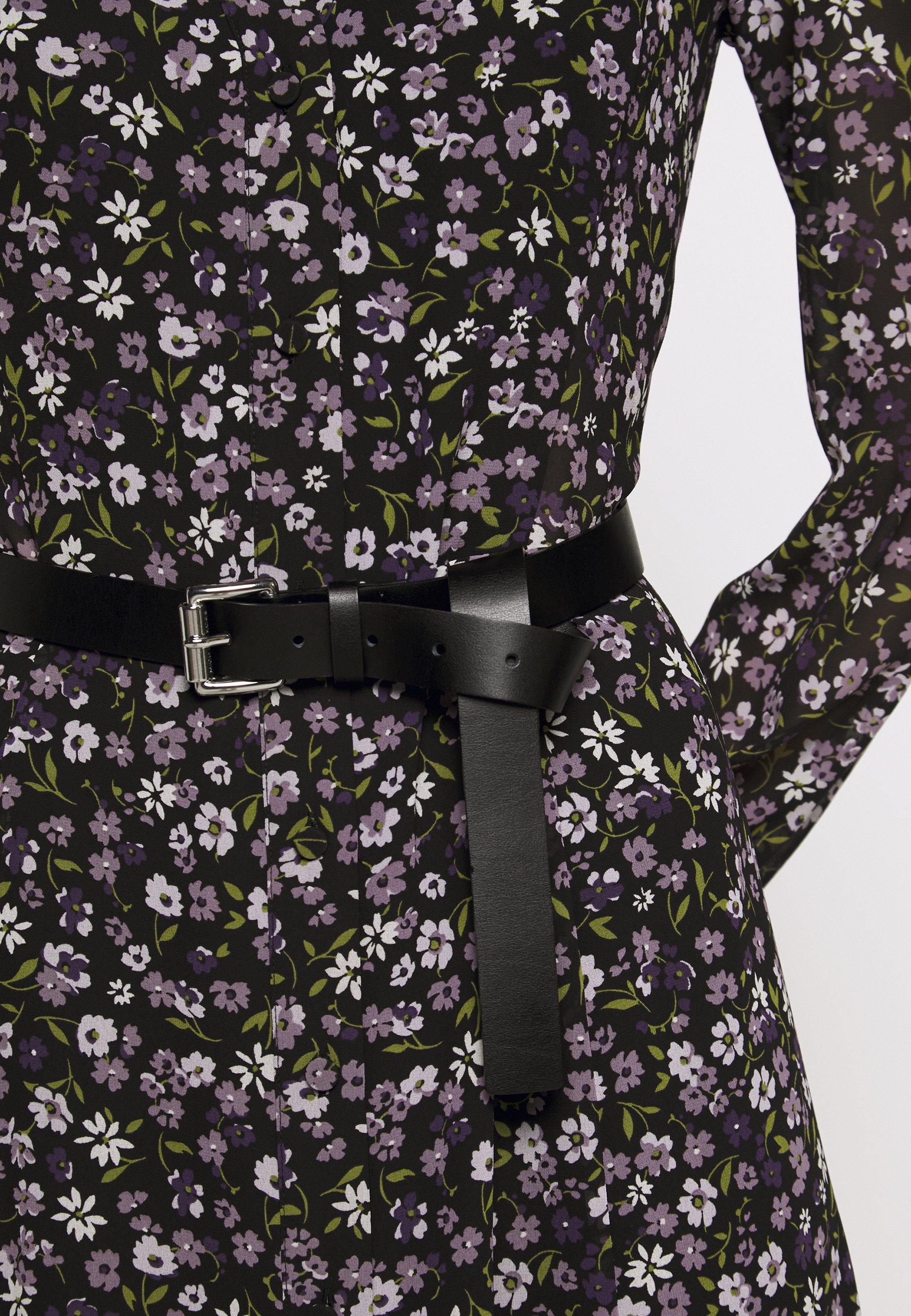 MICHAEL Michael Kors MIDI - Skjortekjole - orchid haze