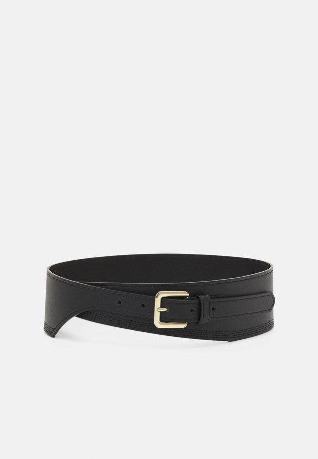 PCGLORINNA WAIST BELT - Waist belt - black/gold