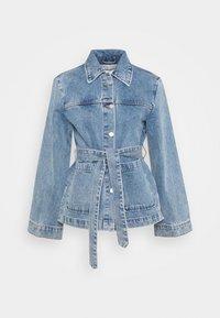 INDOOR YVIS - Denim jacket - denim blue