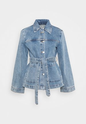 INDOOR YVIS - Denim jacket - denim blue