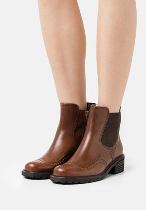 Classic ankle boots - whisky