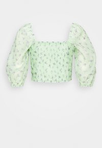 Glamorous - CROPPED BUST DETAIL TOP - Blouse - green - 1