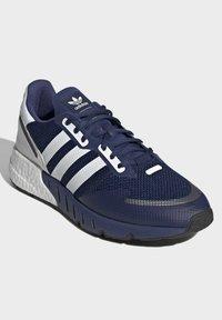 adidas Originals - ZX 1K BOOST SHOES - Baskets basses - blue - 1