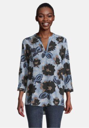 Long sleeved top - dunkelblau/blau