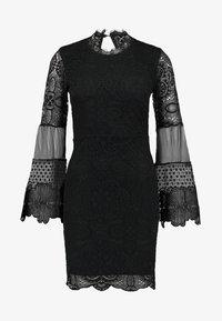 WAL G. - DETAIL MINI DRESS - Vestido de cóctel - black - 6