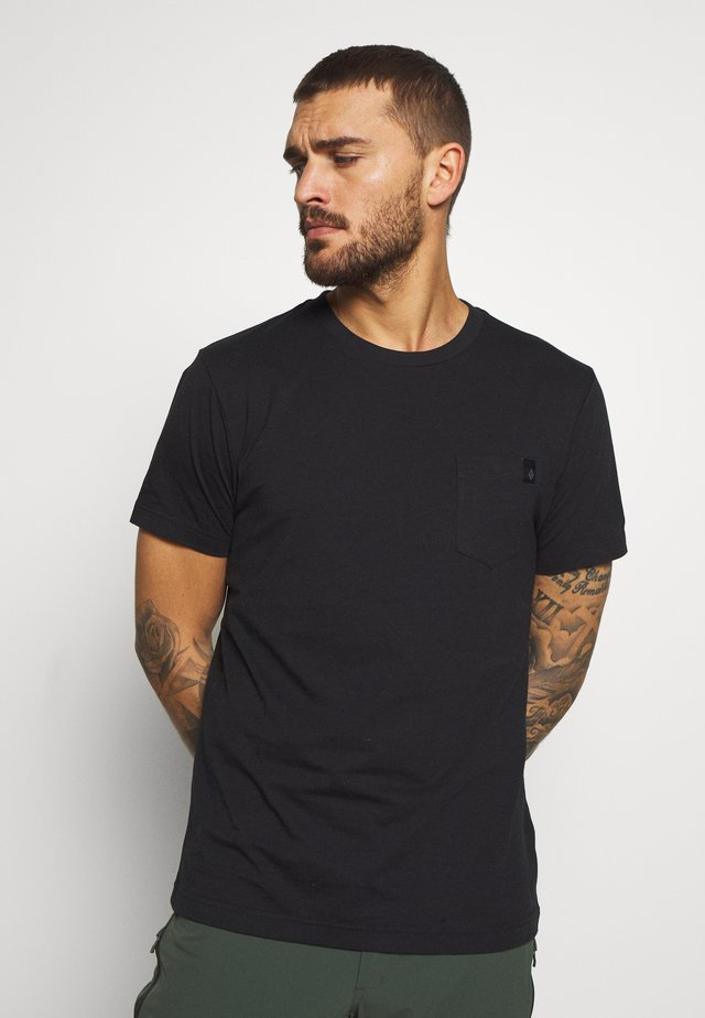 CRAG - T-shirt con stampa - black