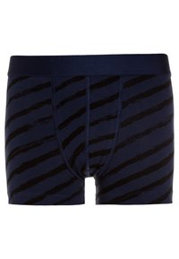 Ten Cate - BOYS SHORT 2 PACK - Panties - light grey melee/deep blue - 2