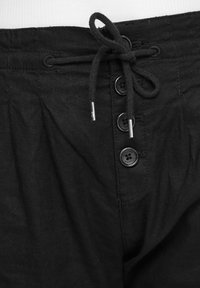 QS by s.Oliver - REGULAR FIT - Trousers - black - 5